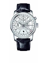 Eterna Watches Men's 8340.41.17.1186 Soleure Black Leather Multifunction Chrono Watch