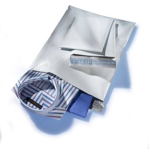 100 - 10x13 White Poly Mailers Bags