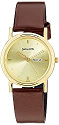 Sonata Analog Gold Dial Mens Watch - ND1141YL13
