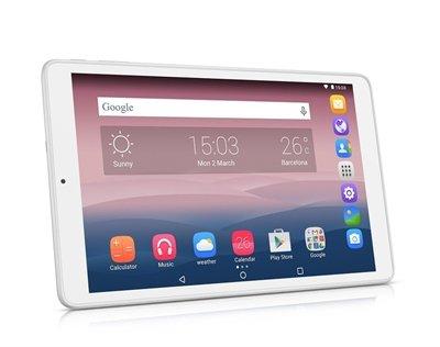 Alcatel Pixi 3 16GB 3G Color blanquecino - Tablet (Tableta de dimensión completo, Android, Pizarra, Android-OS 5.0, Color blanco, IEEE 802.11b, IEEE 802.11g, IEEE 802.11n) width=