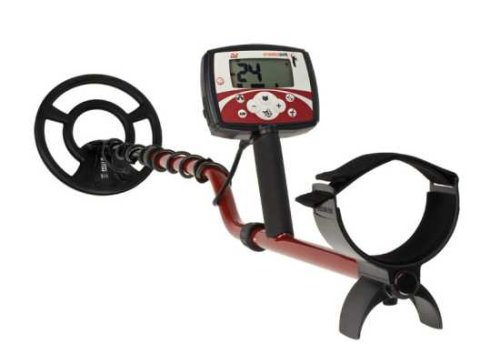 Minelab X-Terra 505 Universal Hand Held Metal Detector Battery Powered 3705-0113 With Pinpoint Indicator And Multi-Segmented Notch Discrimination
