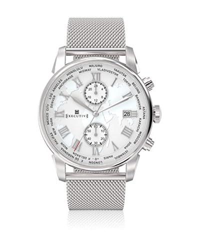 Executive Reloj de cuarzo Man Double Breasted Acero 42 mm