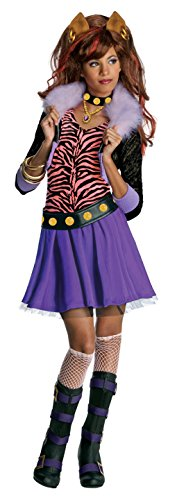 Monster High Clawdeen Wolf Child Costume Size:Small