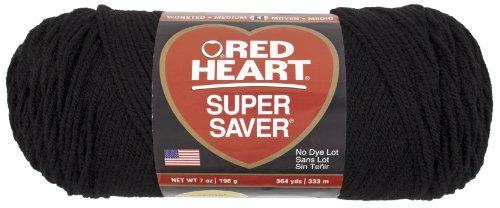 red-heart-super-saver-economy-yarn-black
