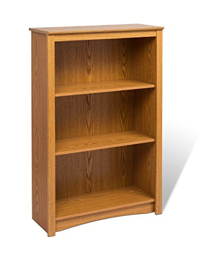 Oak 4-shelf Bookcase Sonoma 4 Shelf Bookcase