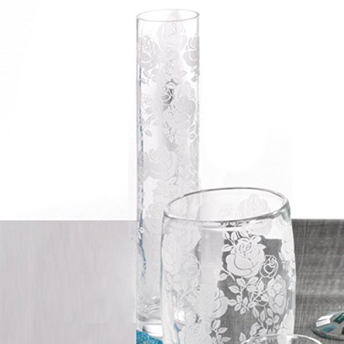 Vase rose dekorationsartikel und accessoires fuer for Dekorationsideen garten