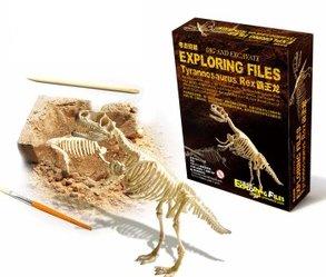 【気分は考古学者!】ティラノ ザウルス 骨格 標本 化石 発掘 キット t-...