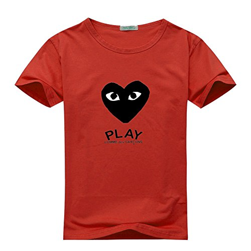 CDG PLAY COMME des GARCONS For Men's T-shirt Tee Outlet