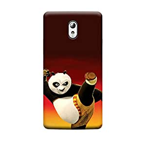 Lenovo A7010/K4 Note Kung fu panda in Action Premium Designer Polycarbonate Hard Back Case Cover with full Protection
