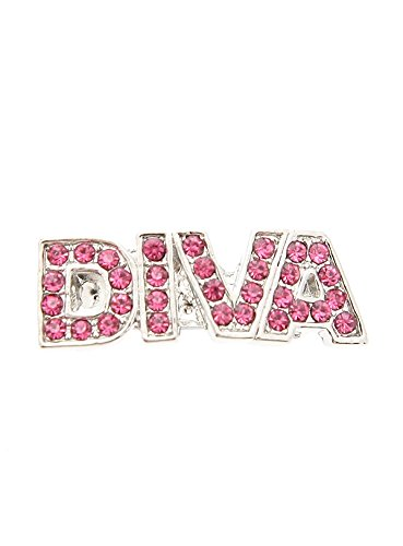 UrbanPup ''Diva'' Swarovski Hair Clip / Dog Barrette (Pink Crystals) fashion cute bowknot flowers kids hair clip bobby pins barrette hairpins accessories for girls hair ornaments hairgrip headwear