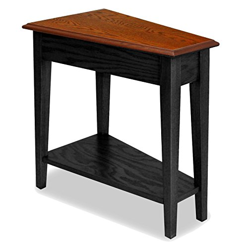 Cheapiike Leick Recliner Wedge End Table Black Tyuikjhgfhygf