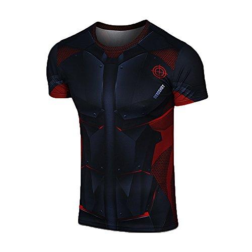 G-Like-Mens-Suicide-Squad-Deadshot-Short-T-shirt-Costume-Tops