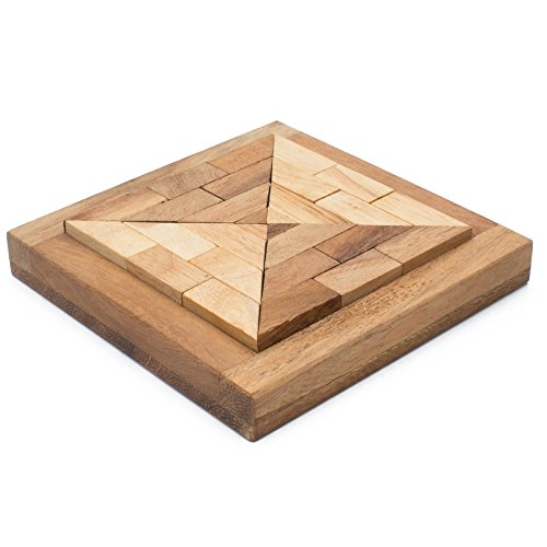 BRAIN GAMES Triangle 3D Wooden Puzzle (Yankee Stadium Model compare prices)