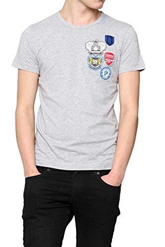 dirk-bikkembergs-t-shirt-color-grey-size-l