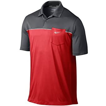 Nike Mens Innovation ColorBlock Pocket Polo by Nike