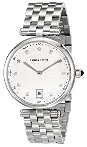 Louis Erard Women's 11810AA11.BMA24 Romance Analog Display Quartz Silver Watch