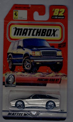 Matchbox 1999-82 of 100series 17 Worldwide Wheels Ferrari 456 Gt 1:64 Scale - 1