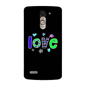 Garmor Designer Silicone Back Cover For LG L Bello D335