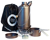 "Ghillie Kettle Adventurer 1.5 Liter Hard Anodized Kettle with ""Cook Kit"""