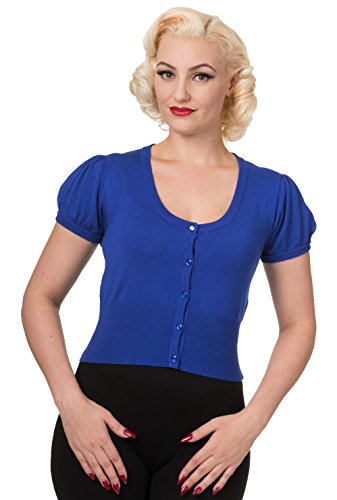 Banned Apparel -  Cardigan  - Donna blu 42