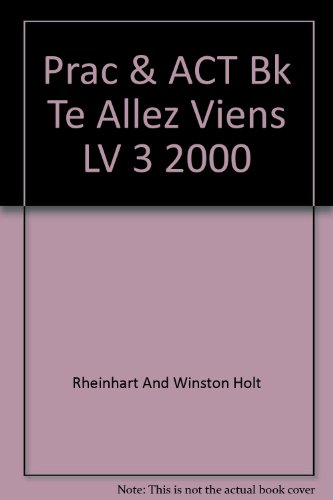 Practice and activity book teacher's edition level 3 Allez Viens  2000 PDF