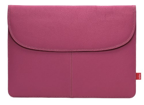 Toffee Envelope Sleeve for new 12-inch MacBook/Air 11.6-inch and some similar sized Ultra-Notebook-Tablets (Fuchsia Pink) (11 Inc Macbook Air Sleeve Pink compare prices)