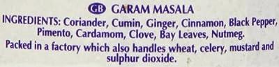 Rajah - Garam Masala Gewürzmischung Pulver - 100g von Rajah - Gewürze Shop