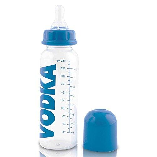 16-x-Babyflschchen-Nuckelflasche-Vodka-Babyflasche-Baby-Flasche-Nuckel-Flasche-15-cm