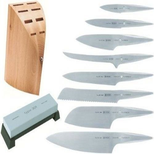 Chroma Type 301 By F.A. Porsche P0148 10- Knife Set With Block