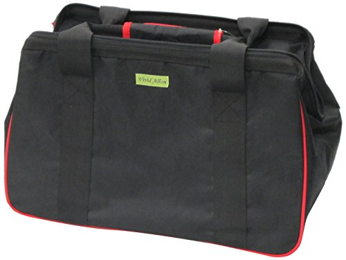 JanetBasket Eco Bag, 18-Inch x 10-Inch x 12-Inch, Black/Red from NCM Canada, Inc.