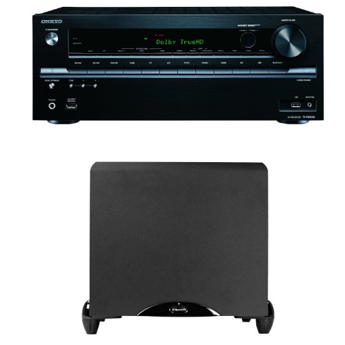 Onkyo Tx-Nr636 7.2-Channel Network A/V Receiver Plus A Klipsch Synergy Sub-12 12-Inch Subwoofer
