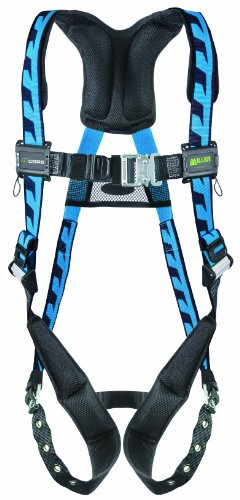 Miller Titan by Honeywell AC-QC/XSBL AirCore Full Body Harness, X-Small, Blue miller titan by honeywell ac qc xsbl aircore full body harness x small blue