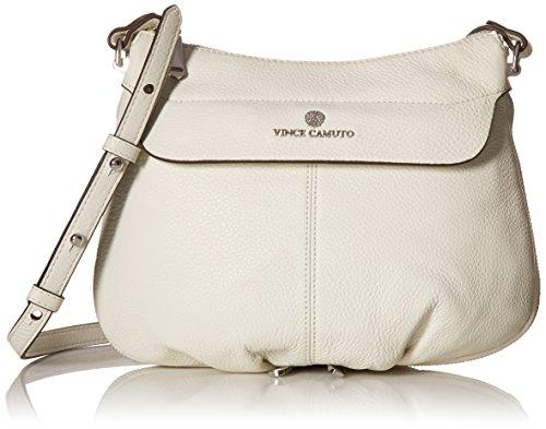 Vince Camuto Dean Cross Body, Snow White, One Size (Snow White Handbag)