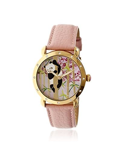Bertha Women's BR4505 Lilly Light Pink/Multicolor Leather Watch As You See