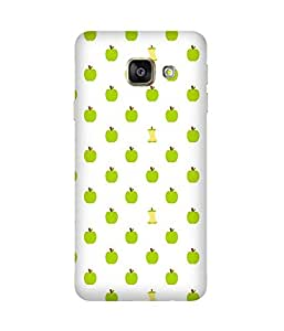 Green Apple Back Cover Case for Samsung Galaxy A7 2016 Edition