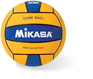 Mikasa Water Polo Game Ball (Men's, Blue/Yellow)