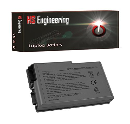 HS Engineering Battery Dell Latitude D610 310-4482 - 6 Cell, 49Whr