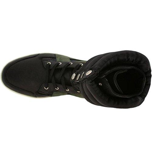 Creative Recreation Men's Cicero Fashion Sneaker,Black Herringbone,12 M US
