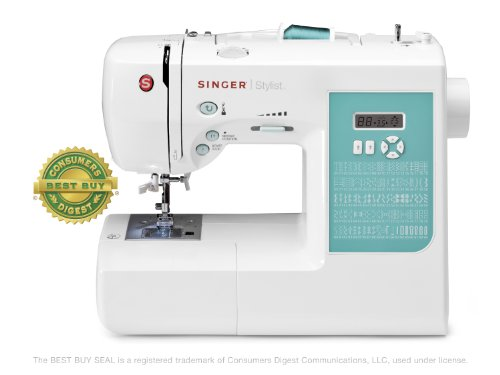 SINGER 7258 Stylist Computerized Sewing Machine