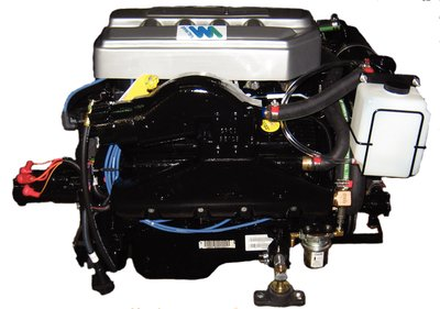 Quest Engines 041002CR1FW; 5.7L Carbureted Inboard