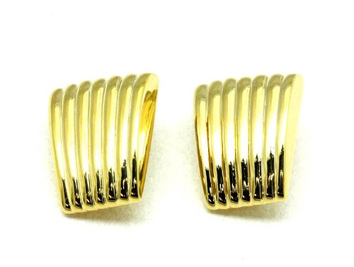 EARRING CLIP METAL GOLD Fashion Jewelry Costume Jewelry fashion accessory Beautiful Charms