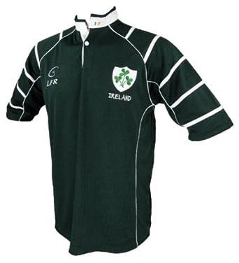 Buy LFR, Rugby Shirt Ireland Breathable,Mens by LFR