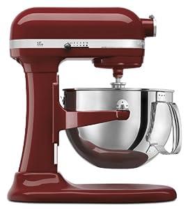 KitchenAid KP26M1PGC Professional 600 Series 6-Quart Stand Mixer, Cinnamon Gloss