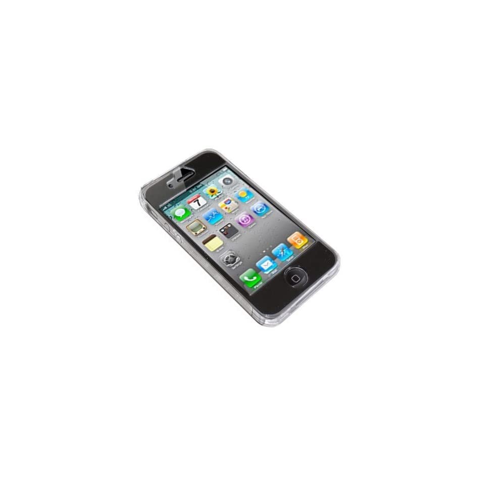 Modern Tech Tough Clear Crystal Case for Apple iPhone 4
