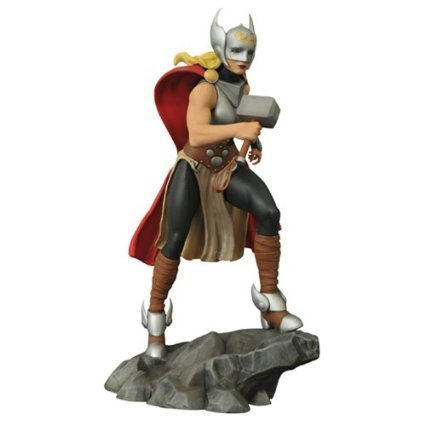 Diamond Select Toys Marvel Lady Thor Femme Fatales PVC Statue by Thor