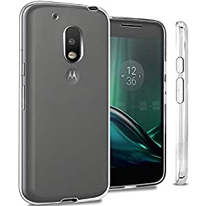 Cell-loid Transparent back cover for Moto G4 Play