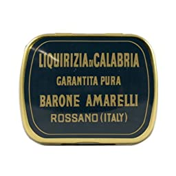 Spezzatina Barone Licorice 20g licorice bits by Amarelli