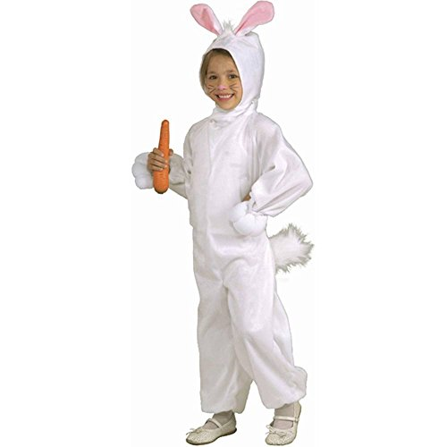 Kids Fleece Bunny Rabbit Costume, Small