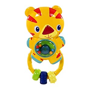 Bright Starts Lights, Tiger, Action Rattle