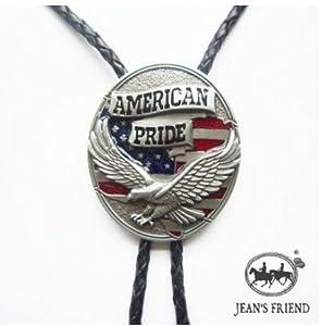 Amazon.com: bolo tie bolotie new western rodeo cowboy eagle pride flag
